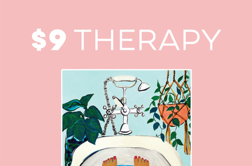 Photo: $9 Therapy by Megan Reid and Nick Greene.. Image Courtesy HarperCollins Publishers