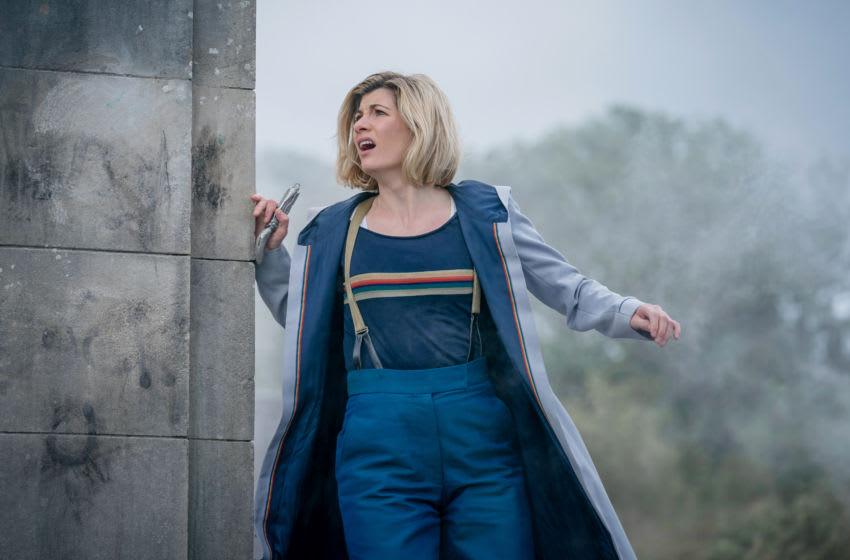 Jodie Whittaker as The Doctor - Doctor Who _ Season 12, Episode 9 - Photo Credit: Ben Blackall/BBC Studios/BBC America