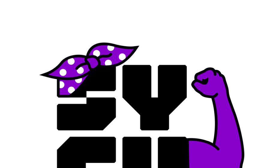 Photo: Women's History Month-Themed SYFY Logo.. Image Courtesy SYFY