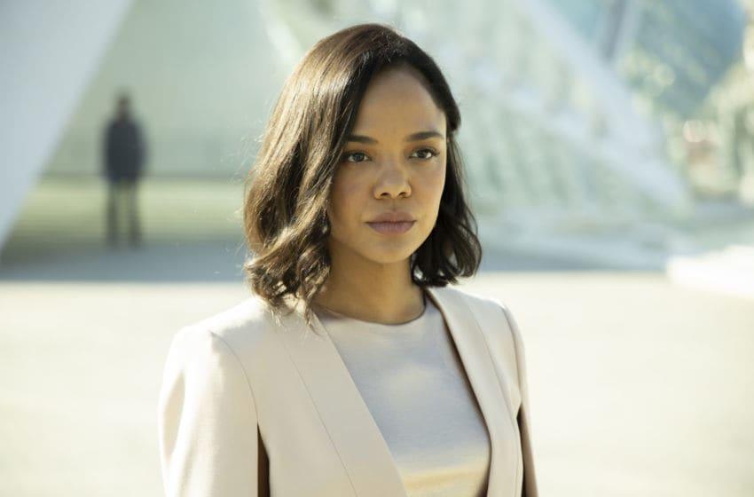 Tessa Thompson in Westworld Season 3.. Photograph by John P. Johnson/HBO