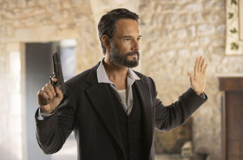Rodrigo Santoro in Westworld Season 3.. Photograph by John P. Johnson/HBO