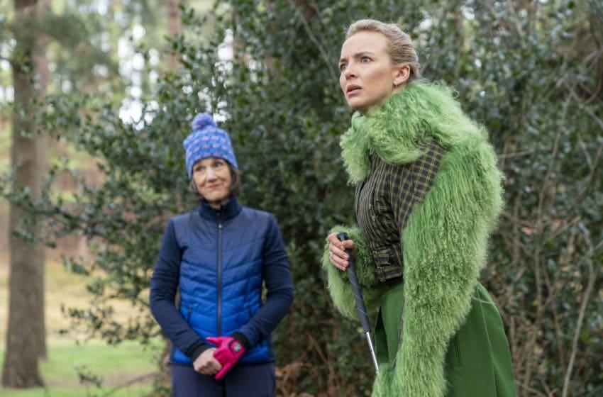 Jodie Comer as Villanelle, Harriet Walter as Dasha - Killing Eve _ Season 3, Episode 7 - Photo Credit: Laura Radford/BBCAmerica/Sid Gentle