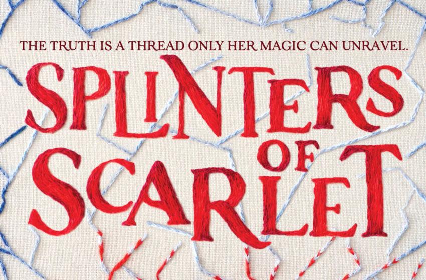 Splinters of Scarlet by Emily Bain Murphy. Image Courtesy Houghton Mifflin Harcourt Books