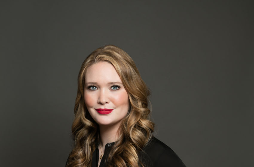 The fantasy writer Sarah J. Maas (USA), January 22, 2020. Photograph © Beowulf Sheehan