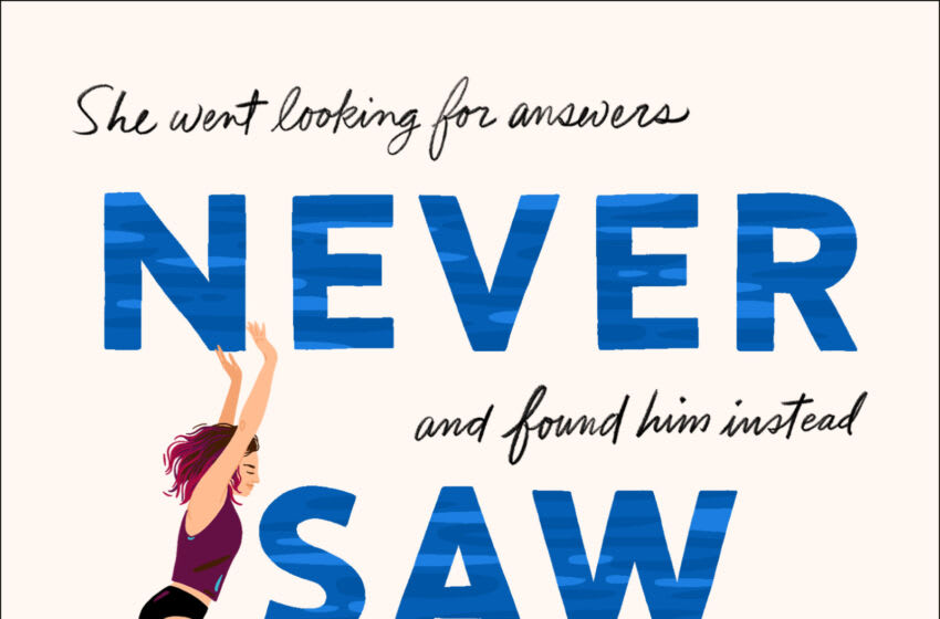 Never Saw You Coming by Erin Hahn. Image courtesy St. Martin's Press