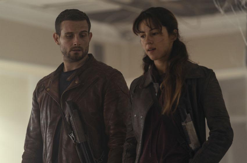 Annet Mahendru as Huck, Nico Tortorella as Felix - The Walking Dead: World Beyond _ Season 1, Episode 8 - Photo Credit: Zach Dilgard/AMC