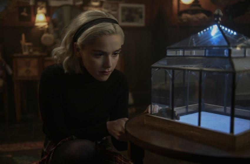 CHILLING ADVENTURES OF SABRINA season 2 production still. Photo: Diyah Pera/Netflix