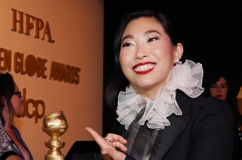 BEVERLY HILLS, CALIFORNIA - JANUARY 05: Awkwafina attends the Official Viewing And After Party Of The Golden Globe Awards Hosted By The Hollywood Foreign Press Association at The Beverly Hilton Hotel on January 05, 2020 in Beverly Hills, California. (Photo by Rachel Luna/Getty Images)