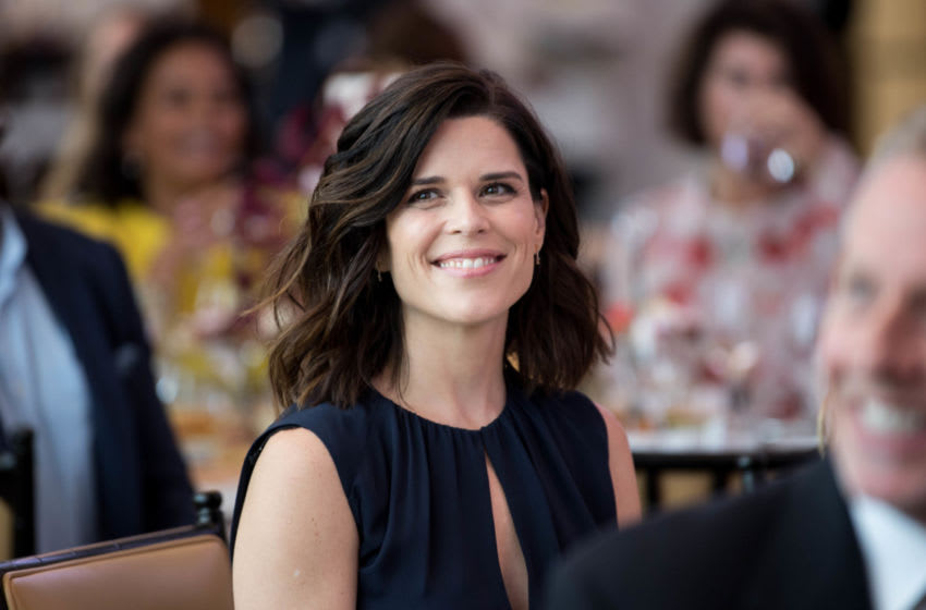 BEVERLY HILLS, CA - JUNE 09: Actress Neve Campbell attends 'Los Angeles Confidential Women of Influence tea hosted by Neve Campbell' at Waldorf Astoria Beverly Hills on June 9, 2017 in Beverly Hills, California. (Photo by Emma McIntyre/Getty Images for Los Angeles Confidential)