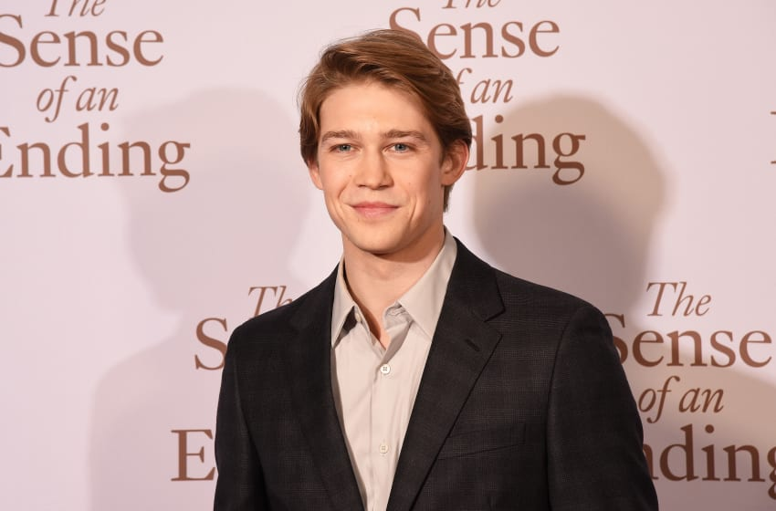 LONDON, ENGLAND - APRIL 06: Actor Joe Alwyn attends 'The Sense of an Ending' UK gala screening on April 6, 2017 in London, United Kingdom. (Photo by Dave J Hogan/Dave J Hogan/Getty Images)