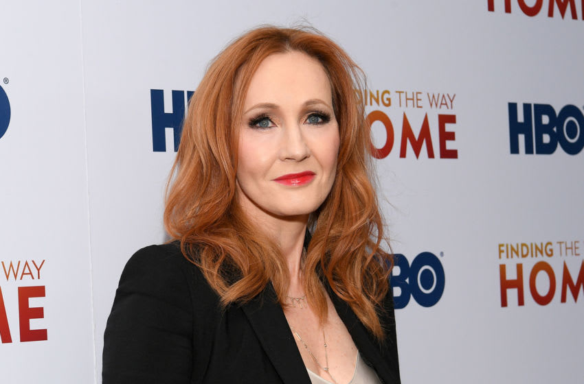 NEW YORK, NEW YORK - DECEMBER 11: J.K. Rowling attends HBO's