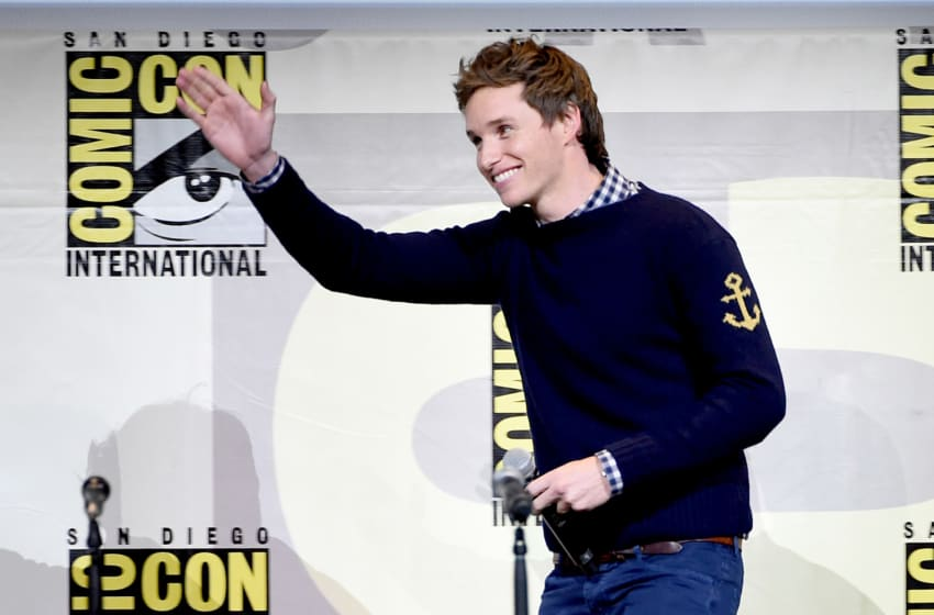 Fantastic Beasts and Where to Find Them Actor Eddie Redmayne (Photo by Kevin Winter/Getty Images)