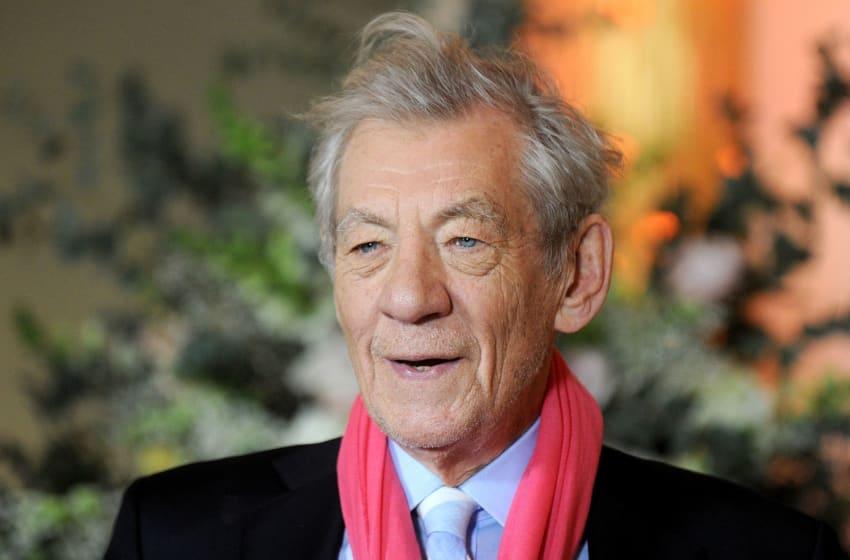 LONDON, ENGLAND - FEBRUARY 23: Sir Ian McKellen attends UK launch event for Disney's