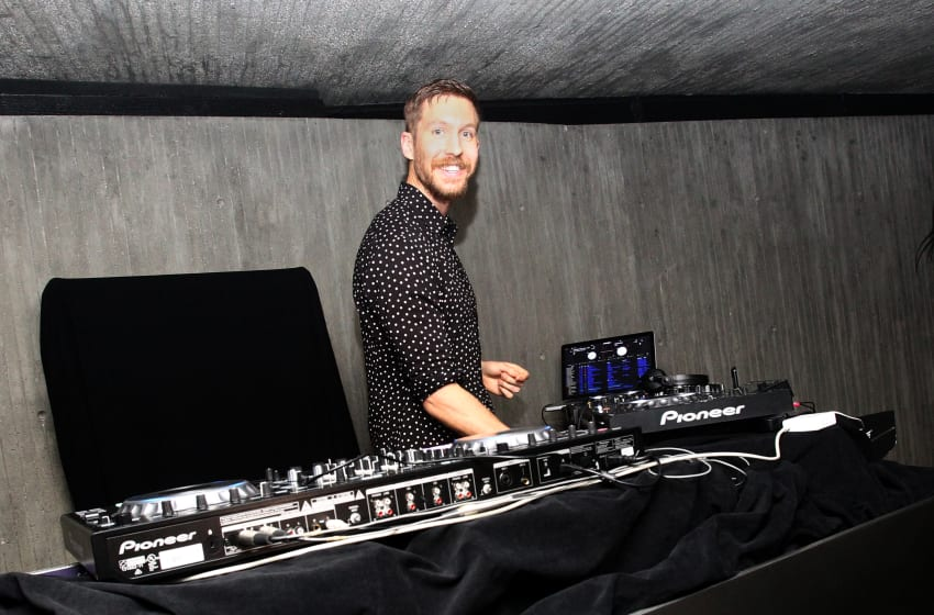 LOS ANGELES, CA - JUNE 29: Calvin Harris performs at his album launch party at a private residence on June 29, 2017 in Los Angeles, California. (Photo by Tommaso Boddi/Getty Images for CH US Inc.)