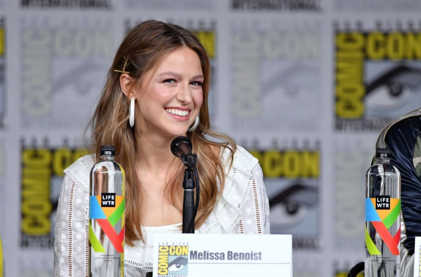 SAN DIEGO, CA - JULY 21: Melissa Benoist speaks onstage at the