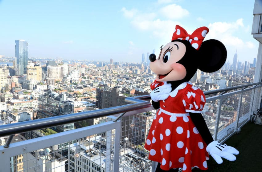 NEW YORK, NY - SEPTEMBER 05: Minnie Mouse attends the #MinnieStyle Suite celbrating Minnie Mouse's 90th Anniversary at Nomo Soho Hotel on September 5, 2018 in New York City. (Photo by Anna Webber/Getty Images for Disney)