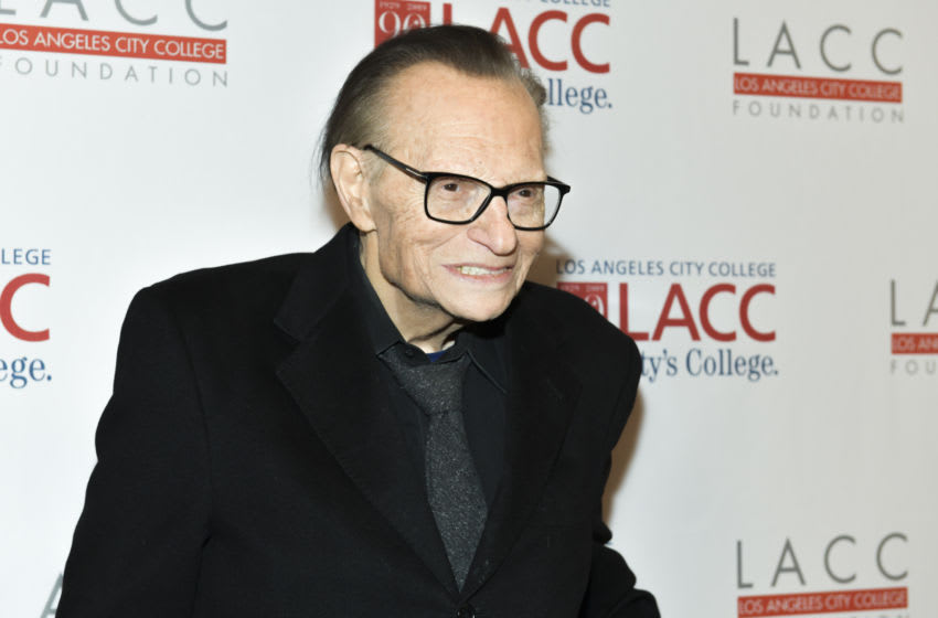 BEVERLY HILLS, CALIFORNIA - MARCH 12: Larry King attends the Los Angeles Community College 2019 Gala at Regent Beverly Wilshire Hotel on March 12, 2019 in Beverly Hills, California. (Photo by Rodin Eckenroth/Getty Images)