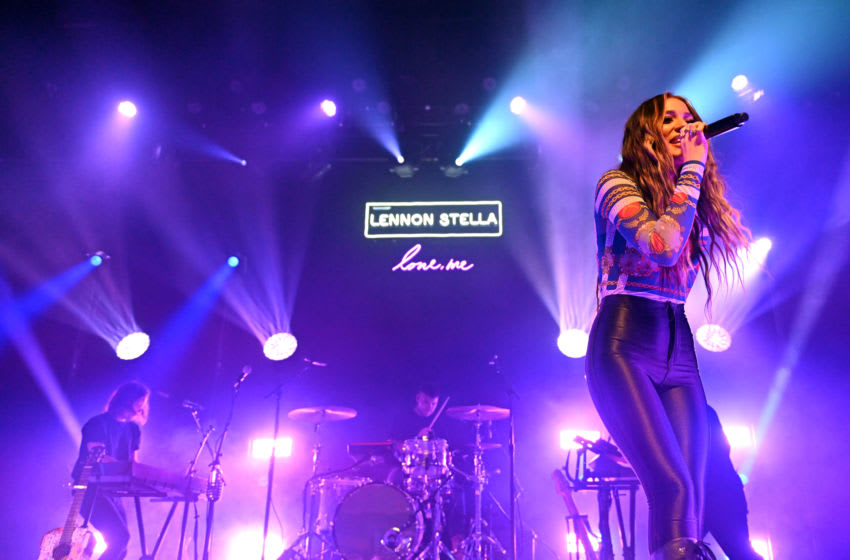 LOS ANGELES, CALIFORNIA - APRIL 03: Singer Lennon Stella performs onstage during the 'Love, Me Tour' at The Fonda Theatre on April 03, 2019 in Los Angeles, California. (Photo by Scott Dudelson/Getty Images)