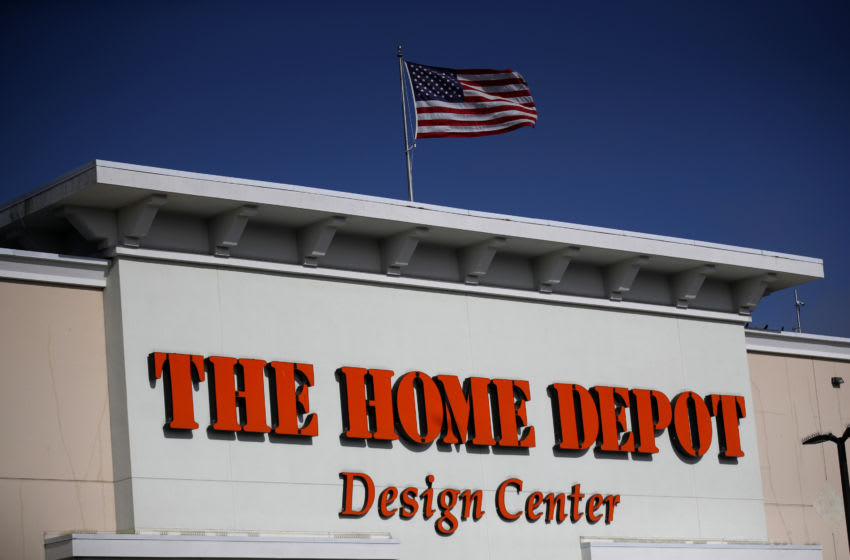 DALY CITY, CALIFORNIA - NOVEMBER 19: A view of a Home Depot store on November 19, 2019 in Daly City, California. Home Depot shares fell after the company's third quarter earnings fell short of analyst expectations with net income of $2.8 billion, or $2.53 per share, compared to $2.9 billion, or $2.51 per share, one year ago. (Photo by Justin Sullivan/Getty Images)