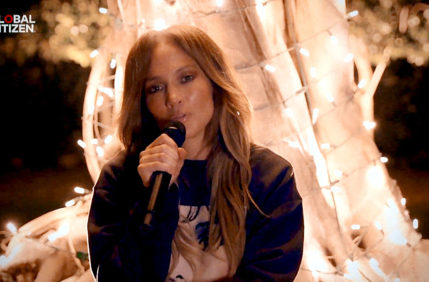 UNSPECIFIED LOCATION - APRIL 18: In this screengrab, Jennifer Lopez performs during