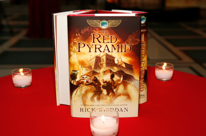 NEW YORK - MAY 03: Atmosphere at the launch party of Rick Riordan's The Kane Chronicles, Book 1: The Red Pyramid at Brooklyn Museum on May 3, 2010 in the Brooklyn borough of New York City. (Photo by Amy Sussman/Getty Images for Disney)