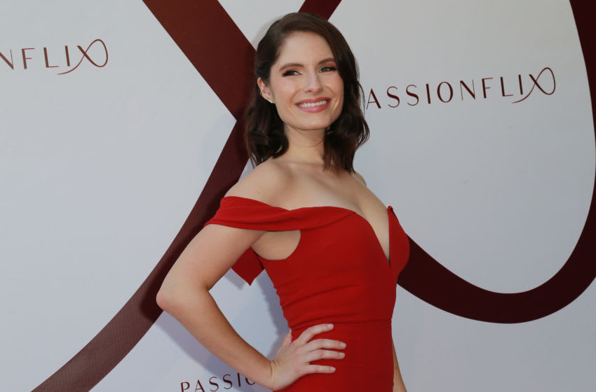 Actress Olivia Applegate attends the Premiere For Passionflix's