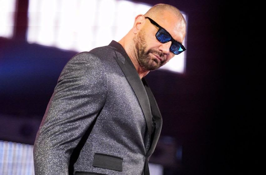 Triple H and Batista agree to a No Holds Barred Match at WrestleMania. The Game and The Animal will settle the score on The Grandest Stage of Them All in a No Holds Barred Match. Photo Credit: WWE.com