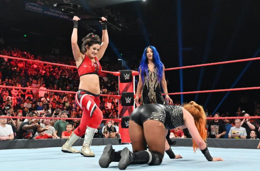 WWE, Sasha Banks, Bayley Credit: WWE.com