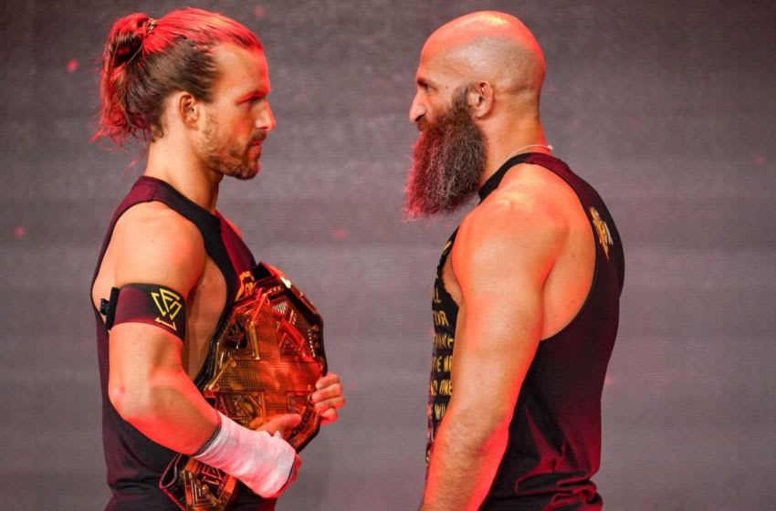 Tommaso Ciampa returns to NXT and confronts Adam Cole on the October 2, 2019 edition of WWE NXT. Photo: WWE.com