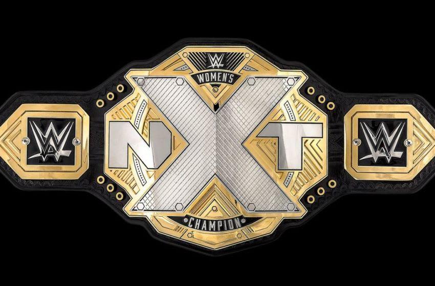WWE NXT Women's Championship Credit: WWE.com