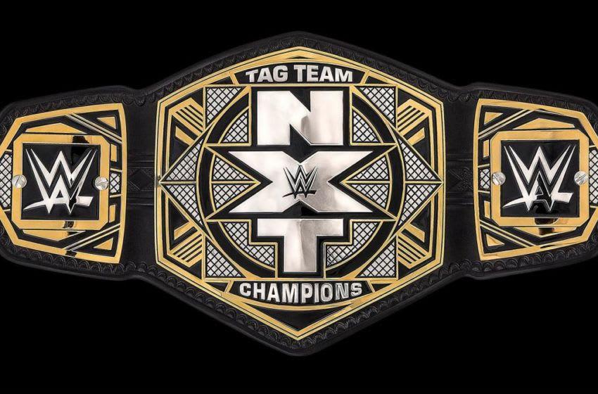 WWE NXT Tag Title Belt
