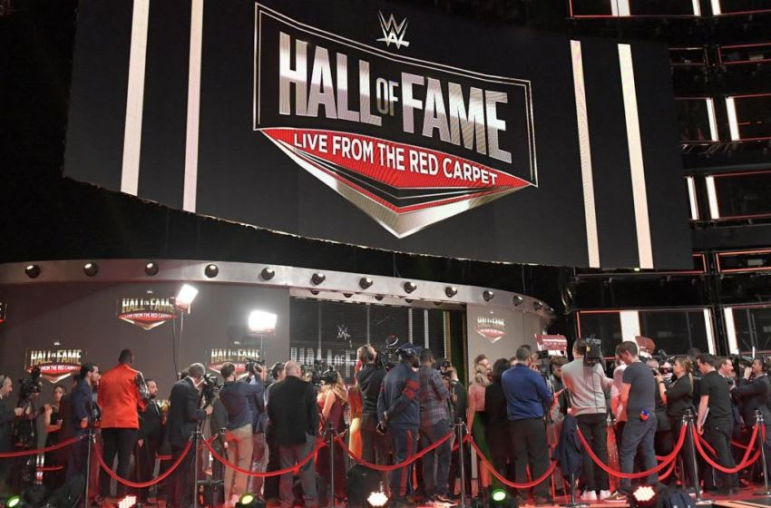 WWE, 2019 Hall of Fame Red Carpet (photo courtesy of WWE)
