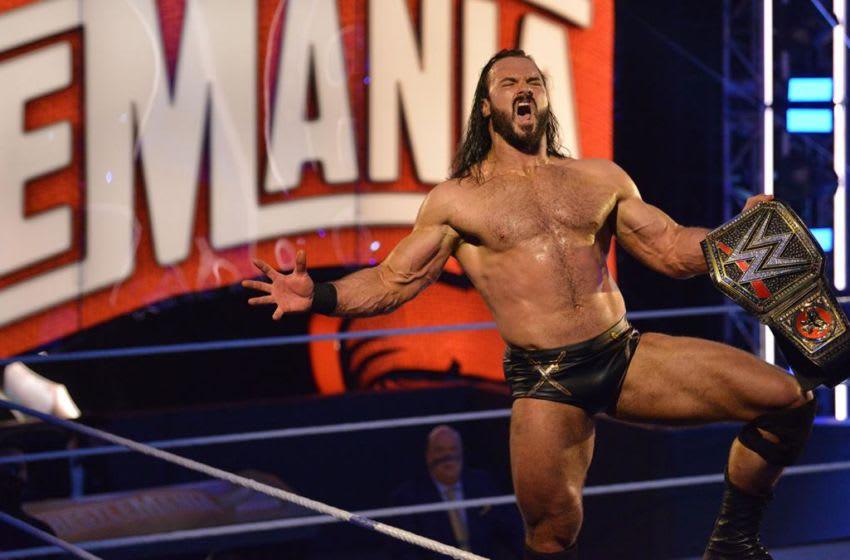 WWE WrestleMania, Drew McIntyre (photo courtesy of WWE)