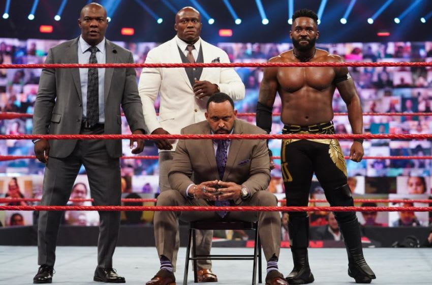 The Hurt Business (photo courtesy of WWE)