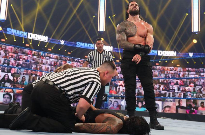 Roman Reigns, WWE SmackDown (photo courtesy of WWE)