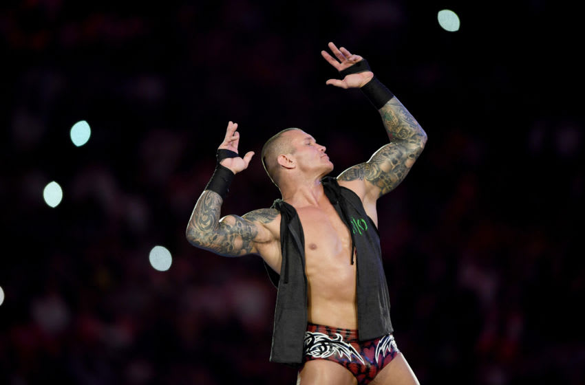 WWE, Randy Orton (Photo credit should read AMER HILABI/AFP/Getty Images)