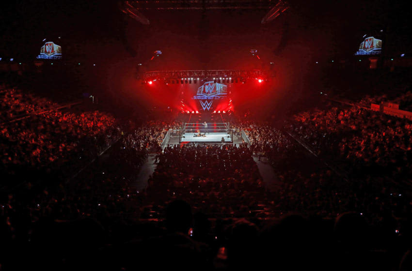 SINGAPORE - JUNE 27: A general view of the WWE Live Singapore at the Singapore Indoor Stadium on June 27, 2019 in Singapore. (Photo by Suhaimi Abdullah/Getty Images for Singapore Sports Hub)