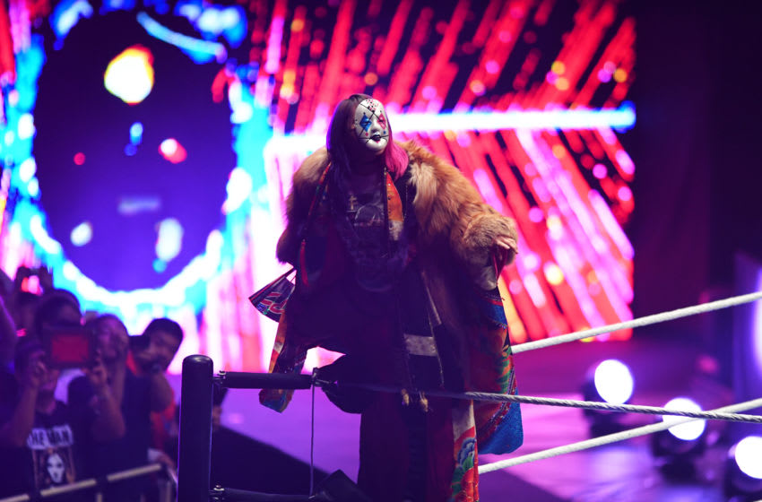 TOKYO,JAPAN - JUNE 28: Asuka enters the ring during the WWE Live Tokyo at Ryogoku Kokugikan on June 28, 2019 in Tokyo, Japan. (Photo by Etsuo Hara/Getty Images)