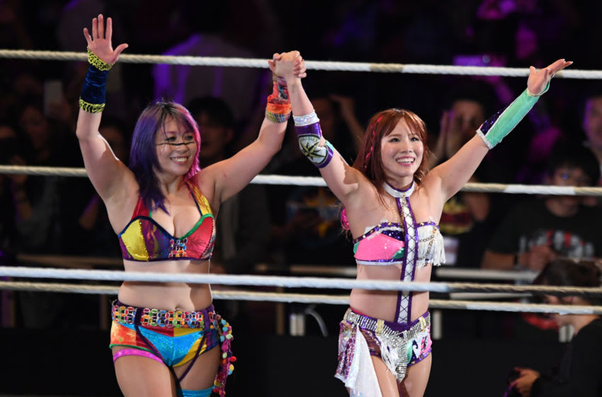 WWE, Asuka, Kairi Sane (Photo by Etsuo Hara/Getty Images)