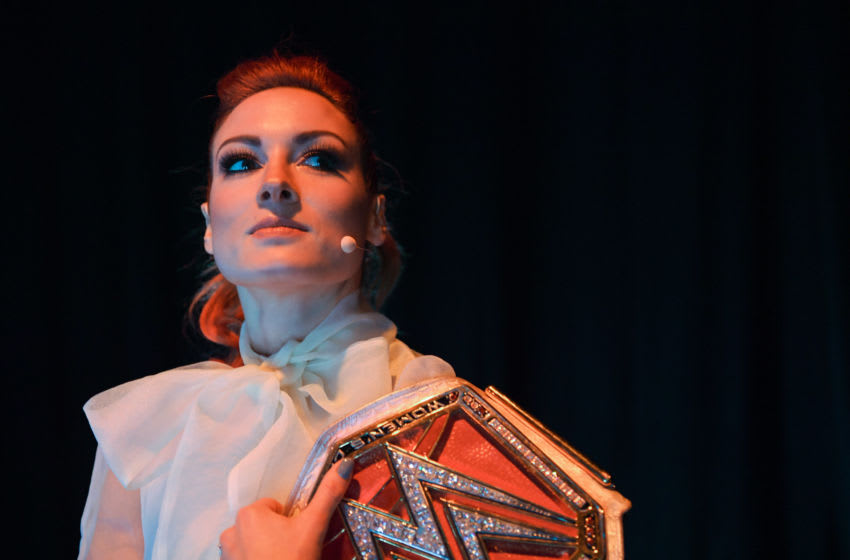 Becky Lynch, WWE Superstar (Photo By Harry Murphy/Sportsfile for Web Summit via Getty Images)