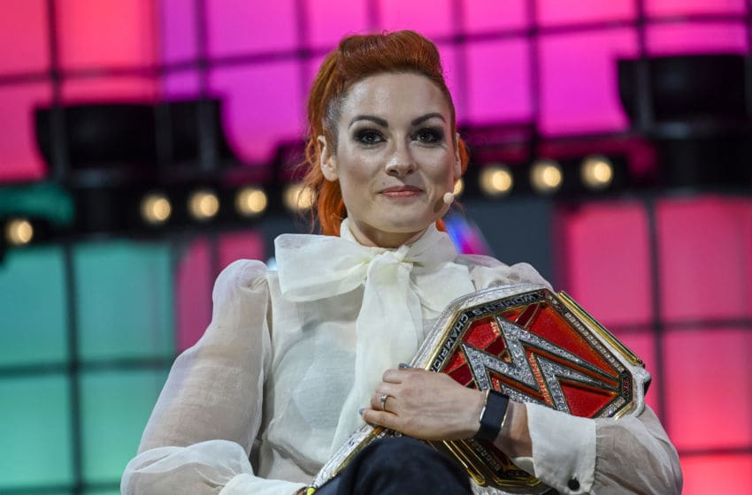 WWE Raw, Becky Lynch (Photo by Horacio Villalobos#Corbis/Corbis via Getty Images)