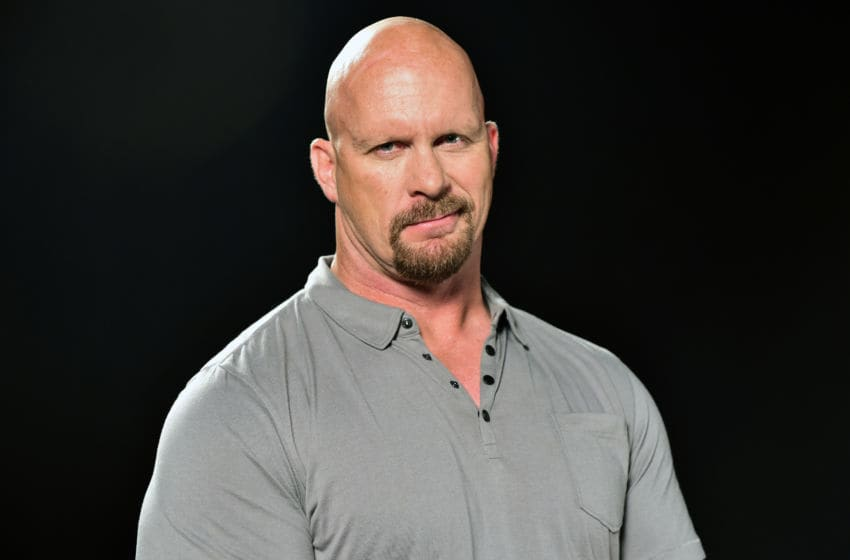 WWE Hall of Famer Steve Austin (Photo by Moses Robinson/Getty Images for Wendy's)