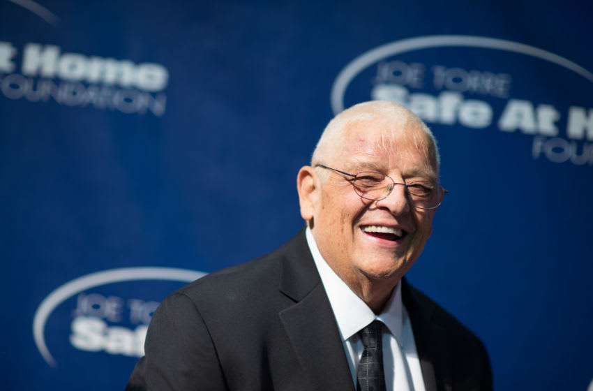 NEW YORK, NY - NOVEMBER 13: Dusty Rhodes attends the Joe Torre Safe At Home Foundation's 12th Annual Celebrity Gala at Pier Sixty at Chelsea Piers on November 13, 2014 in New York City. (Photo by Dave Kotinsky/Getty Images)