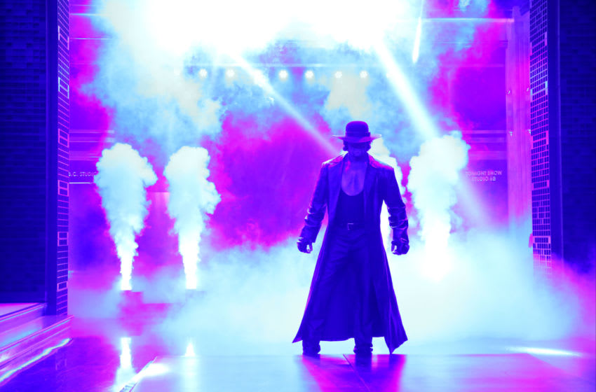 THE TONIGHT SHOW STARRING JIMMY FALLON -- Episode 0365 -- Pictured: The Undertaker on November 11, 2015 -- (Photo by: Douglas Gorenstein/NBC/NBCU Photo Bank via Getty Images)