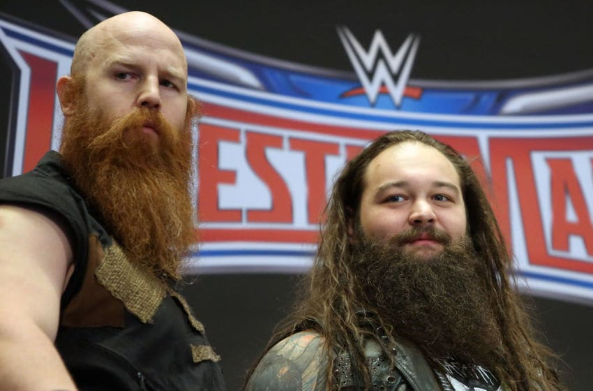 WWE, Bray Wyatt, Erick Rowan (Photo by Monica Schipper/FilmMagic)