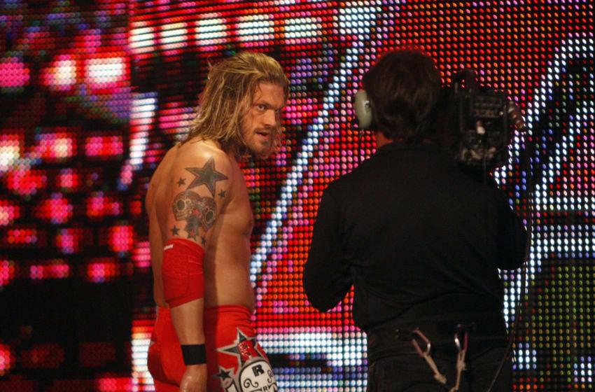 WWE, Edge (Photo by Allen J. Schaben/Los Angeles Times via Getty Images)