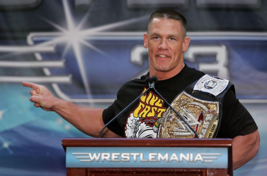 WWE, John Cena (Photo by Bryan Bedder/Getty Images)