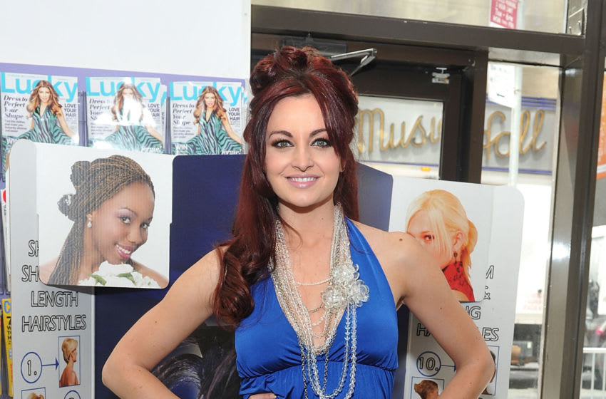 NEW YORK, NY - MAY 06: Model and professional wrestler Maria Kanellis attends Fashion-On-The-Go hair styling services celebration at Duane Reade in Rockefeller Center on May 6, 2011 in New York City. (Photo by Mike Coppola/Getty Images)