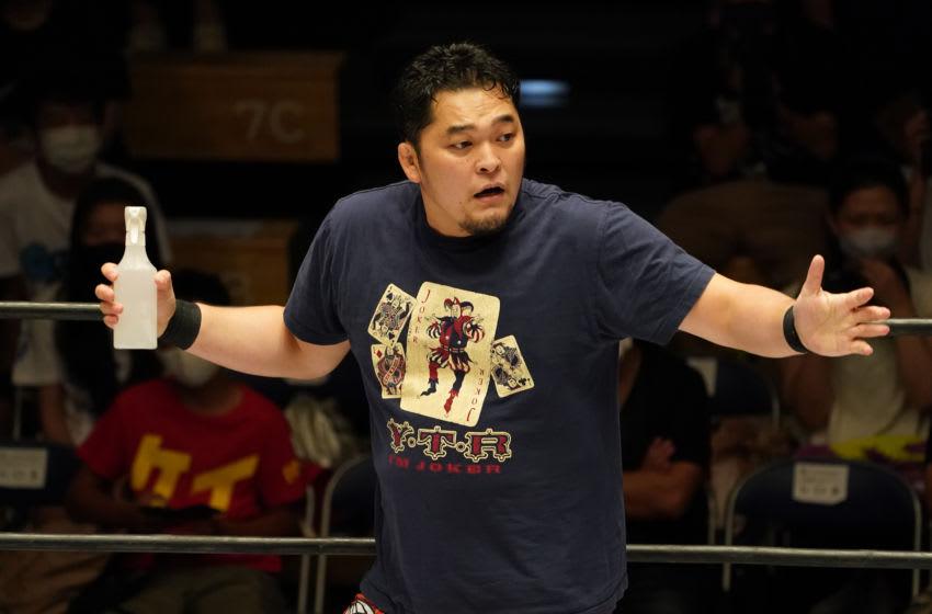 NJPW, Toru Yano (Photo by Etsuo Hara/Getty Images)