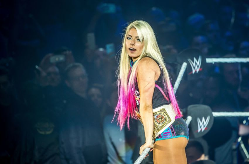 WWE, Alexa Bliss (Photo credit should read PHILIPPE HUGUEN/AFP via Getty Images)
